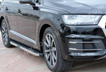 Audi Q7 2016 Model Yan Basamak Orjinal Model Hitit