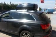 Port Bagaj - Audi Q7 Port Bagaj Box+Tavan Barları Set Halinde