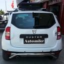 Arka Koruma Bariyeri - Dacia Duster Krom Line Arka Koruma