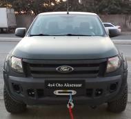 Vinç ve Vinç Aksesuarları - Ford Ranger 12000 LB Vinç Uzaktan Kumandalı Sentetik Halatlı