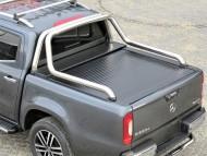 Roll Bar - Mercedes X Class Krom Kasa Koruma Rollbar