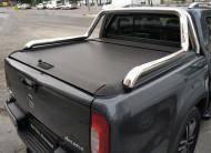 Roll-Back(Sürgülü Kapak) - Mercedes Xclas İthal Sürgülü Kapak + Krom Rollbar