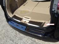 Krom Aksesuarlar - Nissan Xtrail 2015 Model Arka Tampon İç Eşik Kromu