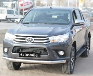 Ön Koruma Bariyeri - Toyota Hilux 2015 Krom Ön Koruma Bariyeri