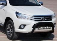 Ön Koruma Bariyeri - Toyota Hilux 2015 Ön Koruma Bariyeri Siyah