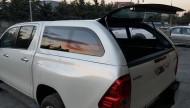 Kasa Kaplama - Toyota Hilux 2015+ Yeni Kasa Camlı Kabin