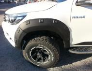 Dodik - Toyota Hilux 2016 Ofroad Dodik Çamurluk Kaplamaları
