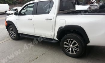 Toyota Hilux'a Uyumlu 2016 Orjinal Model Dodik, Çamurluk Üzeri Kaplama