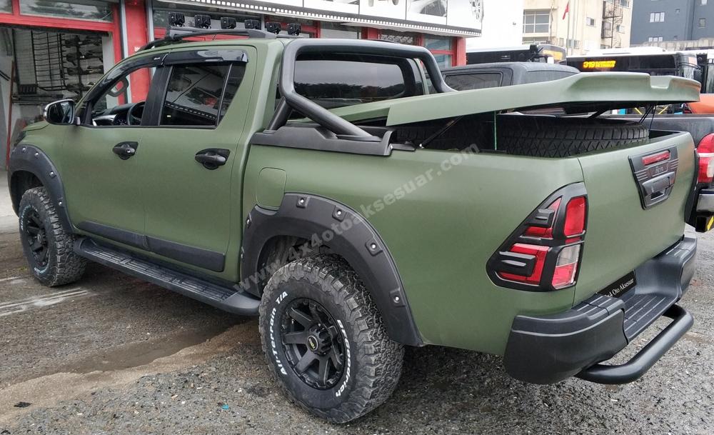 Toyota Hilux 2018 Full Aksesuar Set Halinde