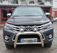 Ön Koruma Bariyeri - Toyota Hilux Krom Ön Koruma Bariyeri, Hella Sisli