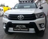 Ön Koruma Bariyeri - Toyota Hilux 2015+ Ön Koruma Bariyeri Oem Stil