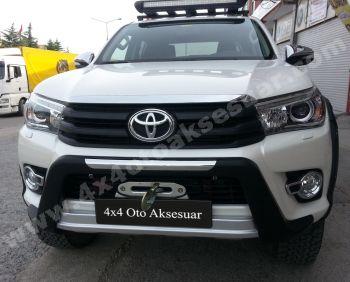 Toyota Hilux 2015+ Ön Koruma Bariyeri Oem Stil
