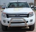 Ön Koruma Bariyeri - Ford Ranger Krom Ön Koruma 70lik Yaylı Toros