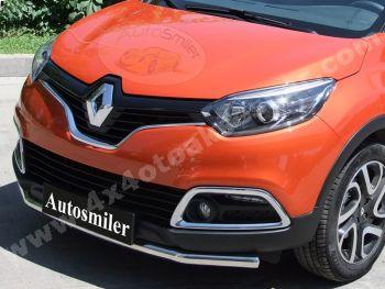 Renault Capture Ön Koruma Bariyeri Krom