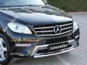 Ön Koruma Bariyeri - Mercedes ML 2012 Ön Difüzör Koruma Bariyeri