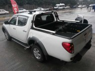 Roll Bar - Mitsubishi L-200 Double Roll-Bar (60mm)