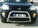 Ön Koruma Bariyeri - Toyota Rav4 Ön Koruma Bariyeri (Krom)