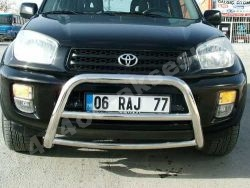 Toyota Rav4 Ön Koruma Bariyeri (Krom)