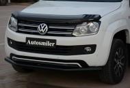 Ön Koruma Bariyeri - Volkswagen Amarok Çiftli Siyah Ön Koruma