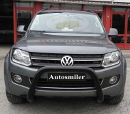 Ön Koruma Bariyeri - Volkswagen Amarok Ön Koruma Action Siyah