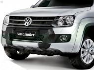 Ön Koruma Bariyeri - Volkswagen Amarok Orjinal Plastik Ön Koruma