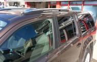 Port Bagaj - Volkswagen Amarok Port Bagaj Çıtası Arinna Krom