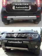 Gövde Parçaları - Dacia Duster Ön-Arka Difüzör İthal Set Halinde