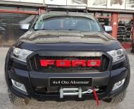 Vinç ve Vinç Aksesuarları - Ford Ranger 12000 LB Çelik Halat Uzaktan Kumandalı Vinç