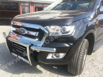 Ford Ranger İthal Geniş Ön Koruma Krom