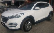 Yan Koruma Bariyeri, Yan Basamak - Hyundai Tucson Orjinal Model Yan Basamak