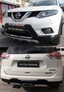 Gövde Parçaları - Nissan Xtrail Ön Arka Koruma Orjinal Baddy Kit Set