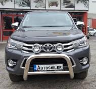 Ön Koruma Bariyeri - Toyota Hilux'a Uyumlu Krom Ön Koruma Bariyeri, Hella Sisli