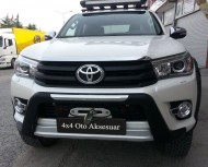 Ön Koruma Bariyeri - Toyota Hilux'a Uyumlu 2015+ Ön Koruma Bariyeri Oem Stil