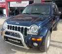 Ön Koruma Bariyeri - Jeep Cheroke Liberty Krom Ön Koruma Bariyeri